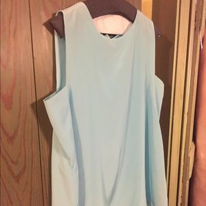 Antonio Melani Pale Blue Silky Top